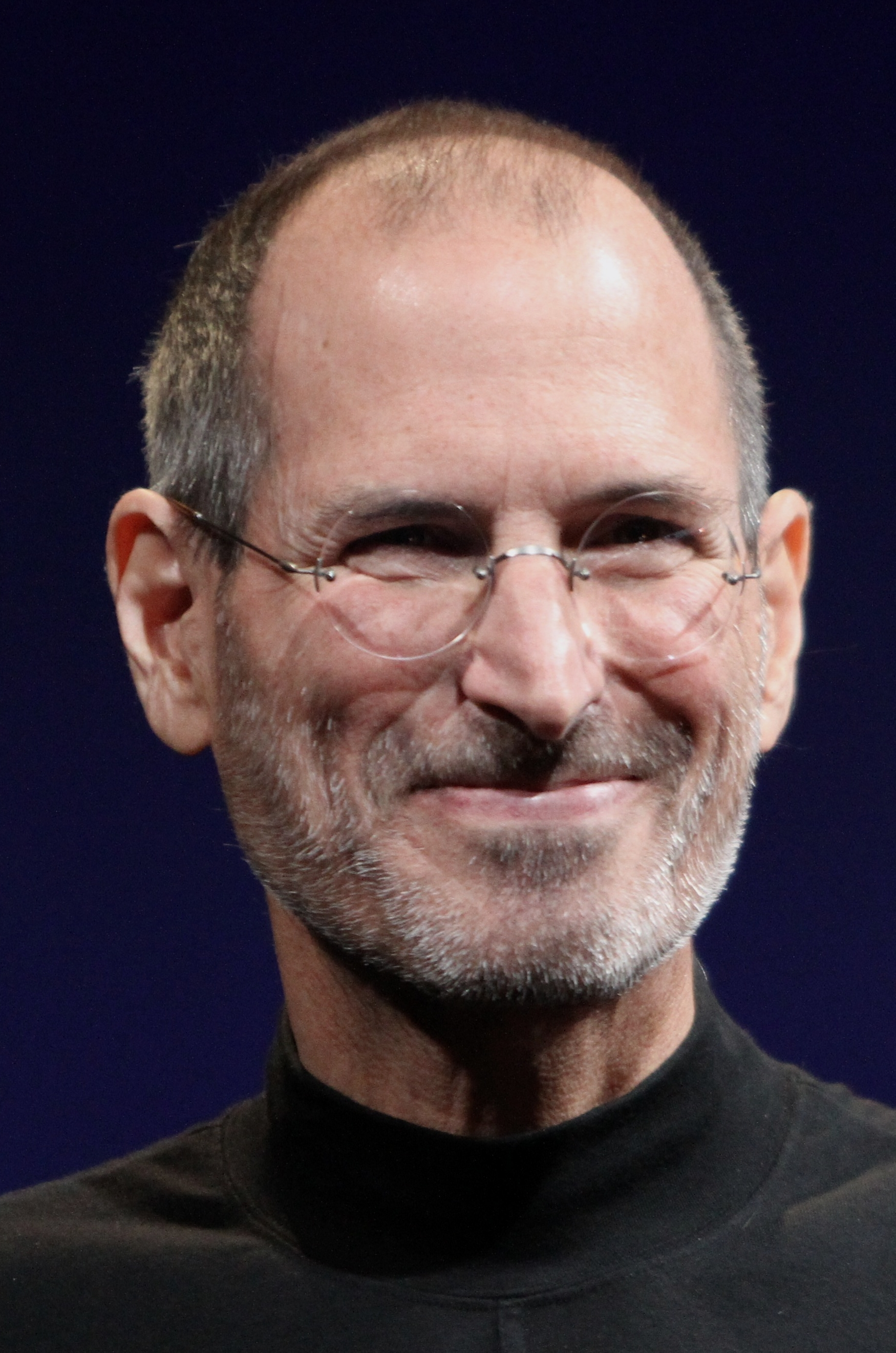 <b>Steve Jobs</b>, Mitgründer des Hard- und Softwareherstellers Apple Inc., <b>...</b> - Steve_Jobs_Headshot